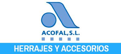 Acofal. Herrajes y accesorios para carpinteria de PVC y Aluminio.